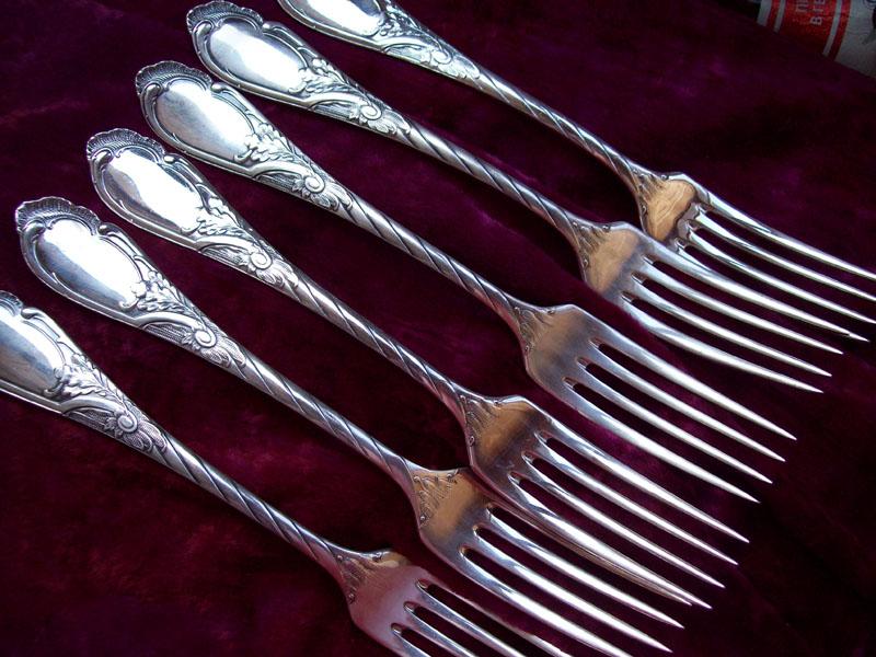 царские вилки, реплика, набор на 6 персон