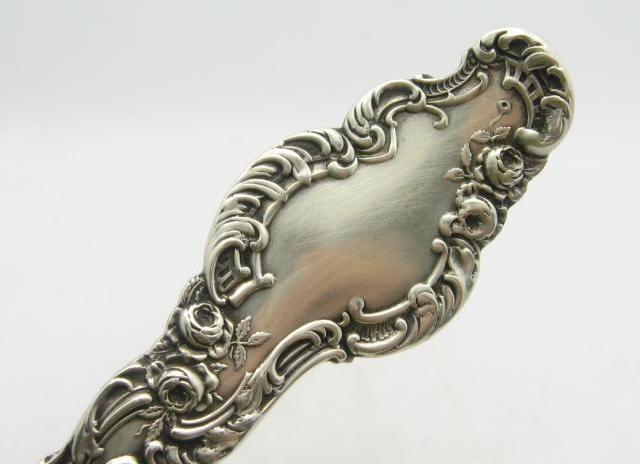 Серебряная поварешка, купить антикварное столовое серебро